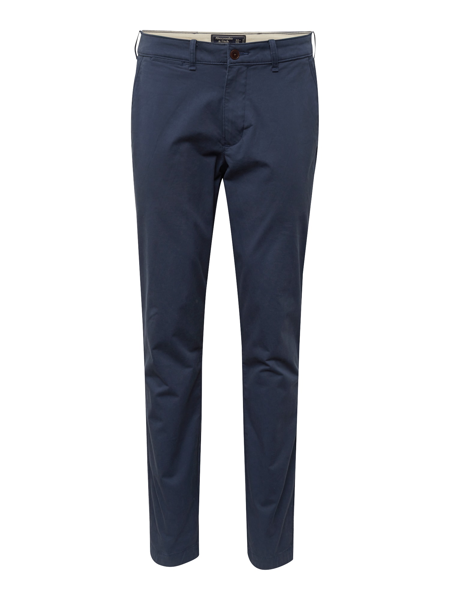 Abercrombie & Fitch Chino stiliaus kelnės tamsiai mėlyna