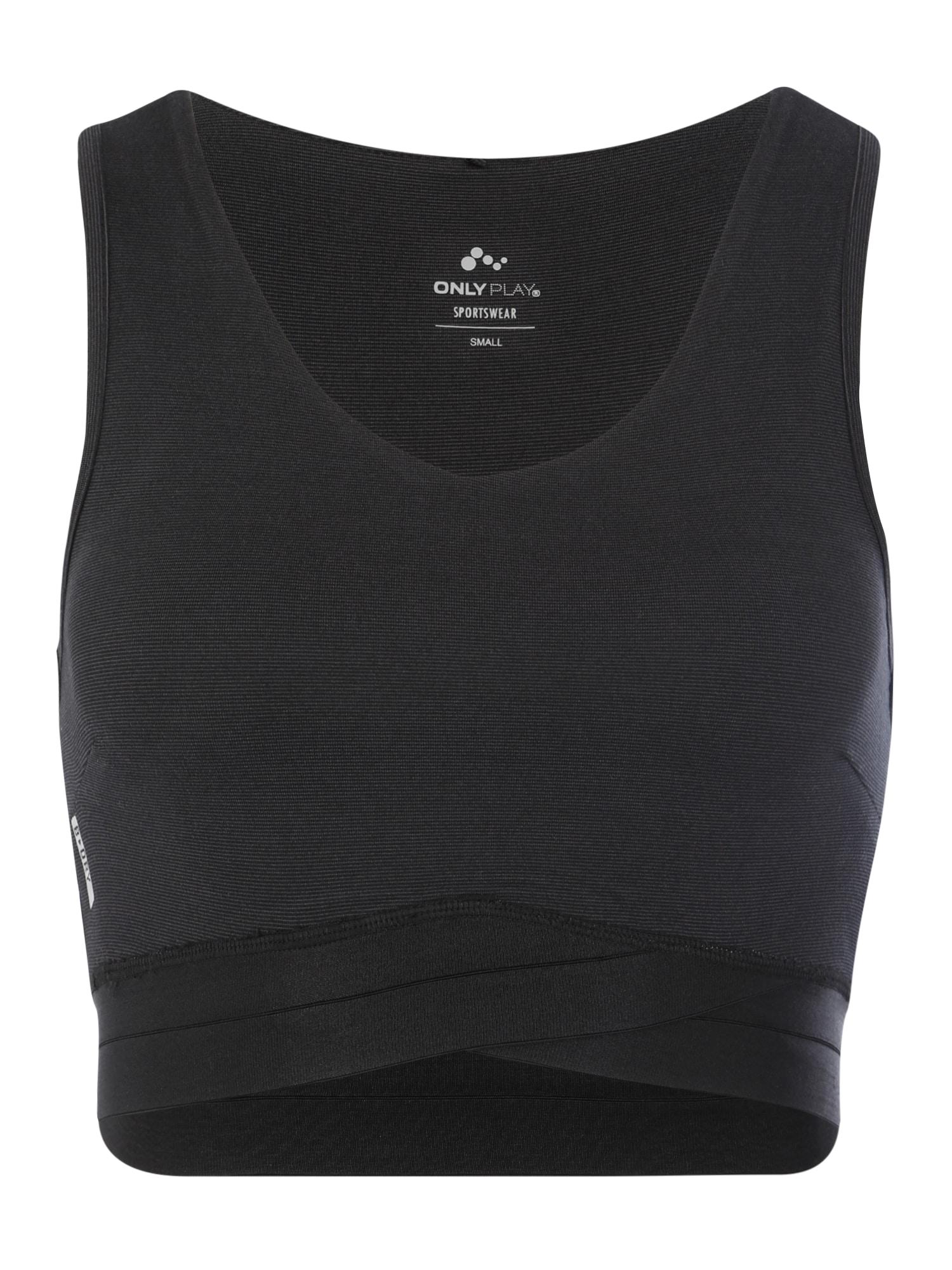 ONLY PLAY Sportovní podprsenka 'VIPER'  černá