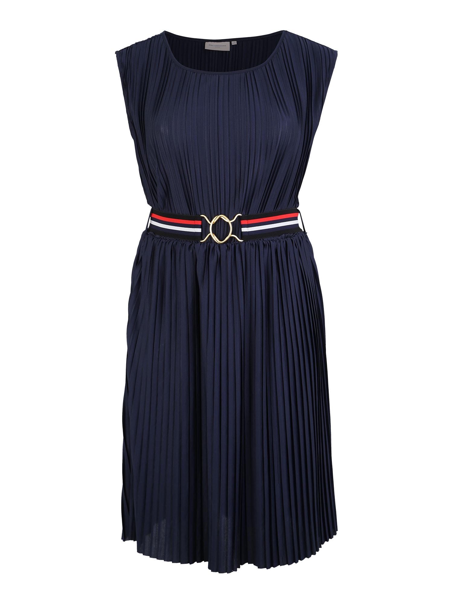 Šaty noční modrá ONLY Carmakoma