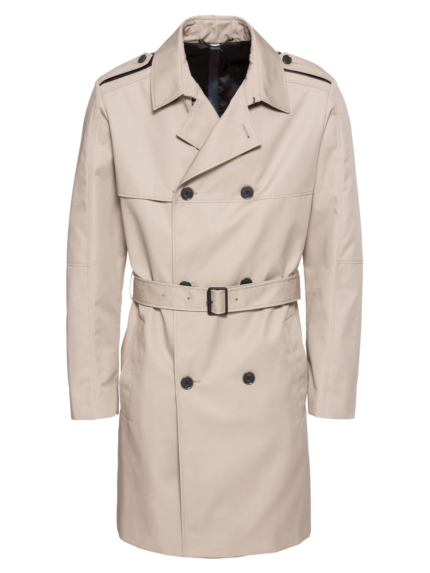 Přechodný kabát Maxido1911 10110503 01 béžová HUGO