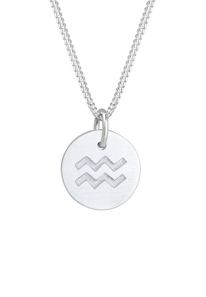 Ketten für Frauen - Halskette Sternzeichen, Sternzeichen Wassermann › ELLI › silber  - Onlineshop ABOUT YOU