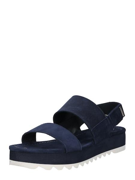 Sandalen für Frauen - Marc O'Polo Sandale 'Goat Suede' navy  - Onlineshop ABOUT YOU