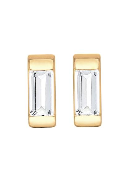 Ohrringe für Frauen - Ohrringe 'Geo' › ELLI PREMIUM › gold weiß  - Onlineshop ABOUT YOU