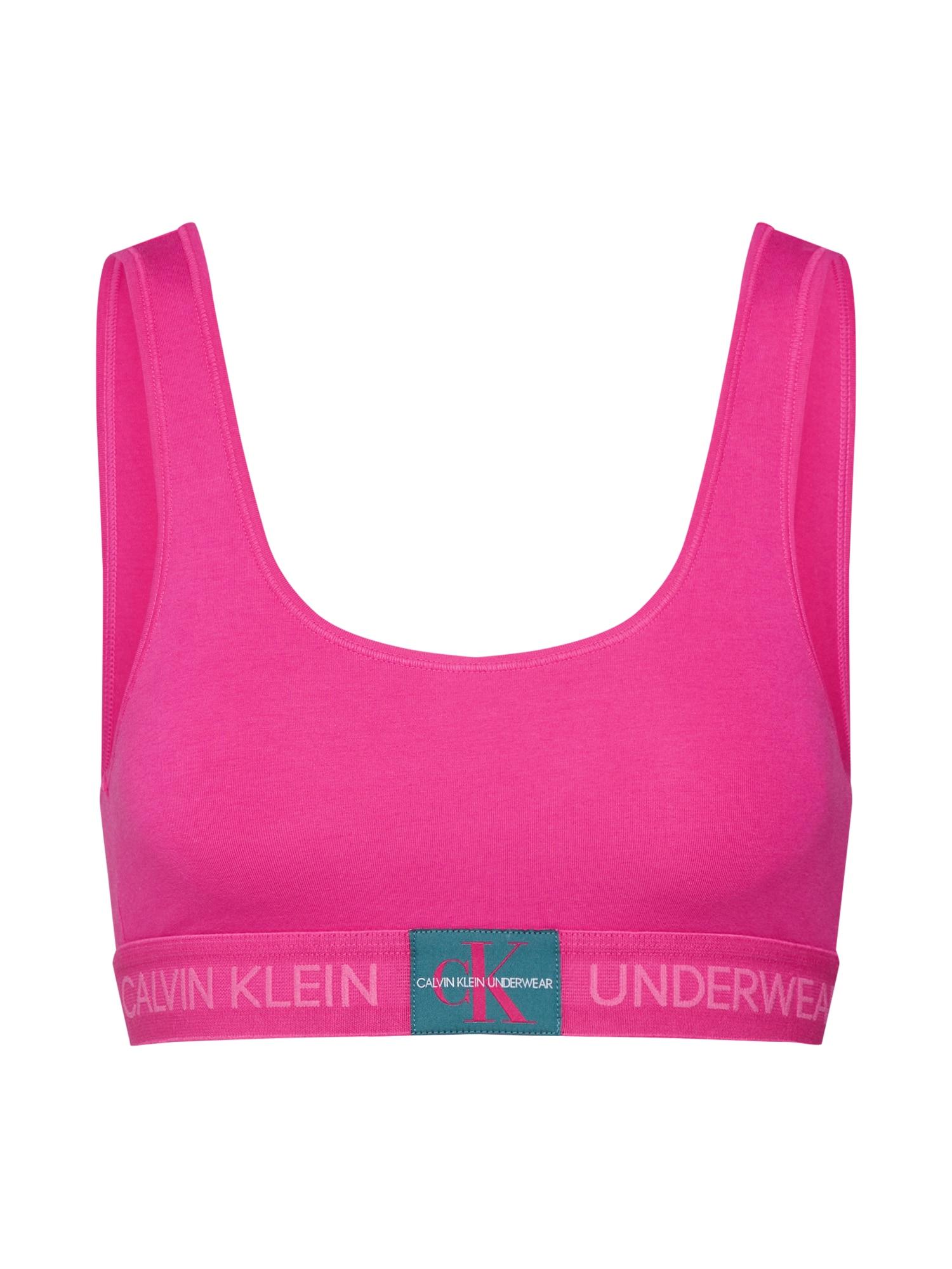 Podprsenka 000QF4918E pink Calvin Klein Underwear