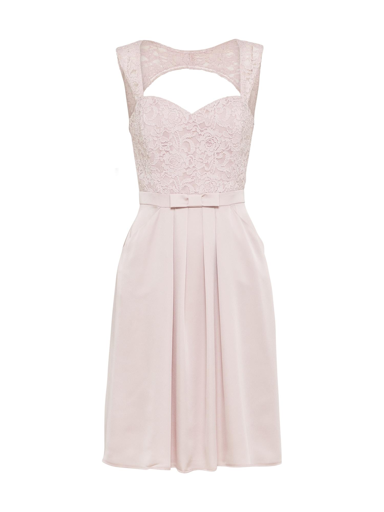 Koktejlové šaty růžová SWING