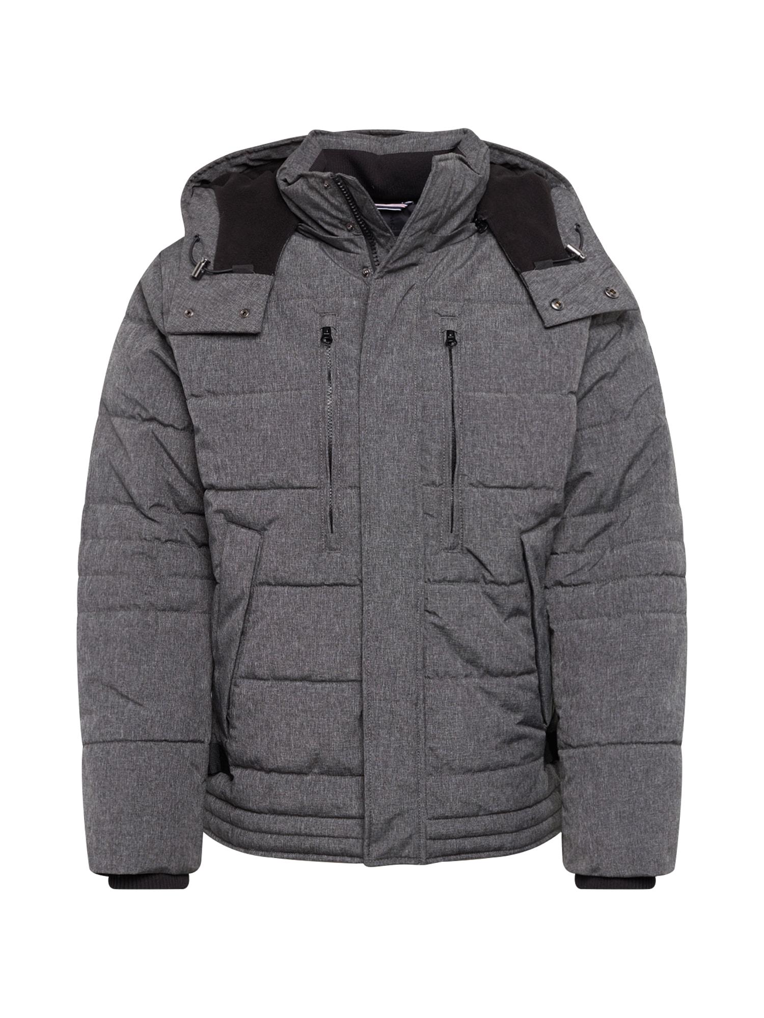 ESPRIT Žieminė striukė 'Artic' margai pilka