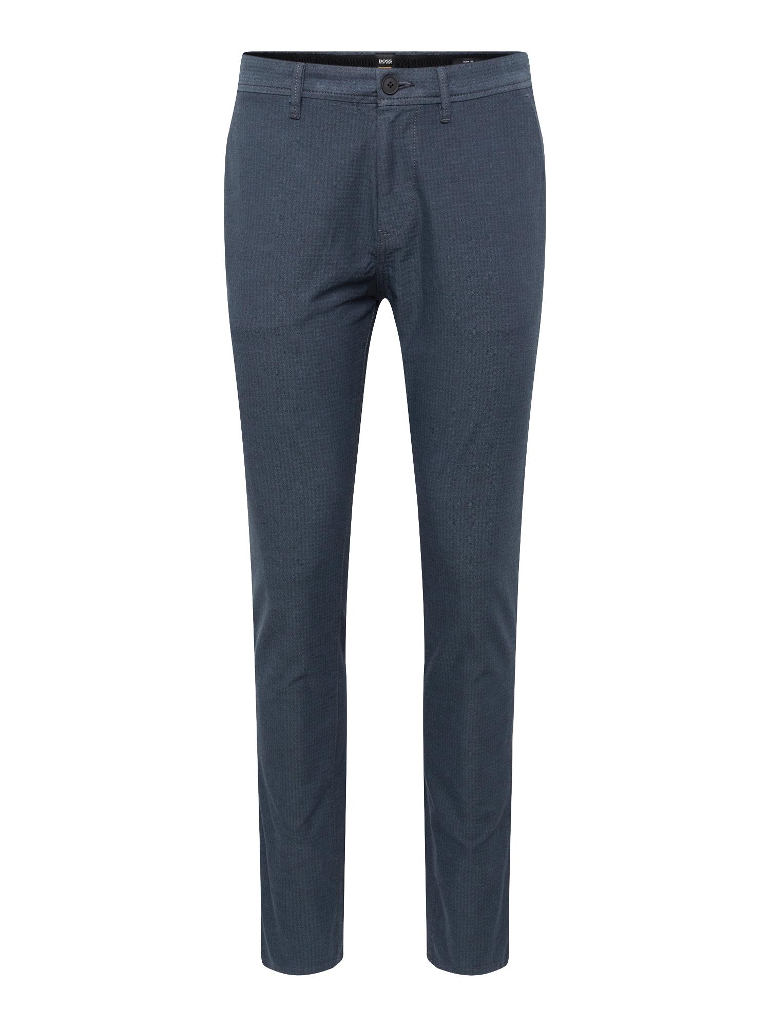 BOSS Chino stiliaus kelnės 'Schino-Modern 10212723 01' melsvai pilka