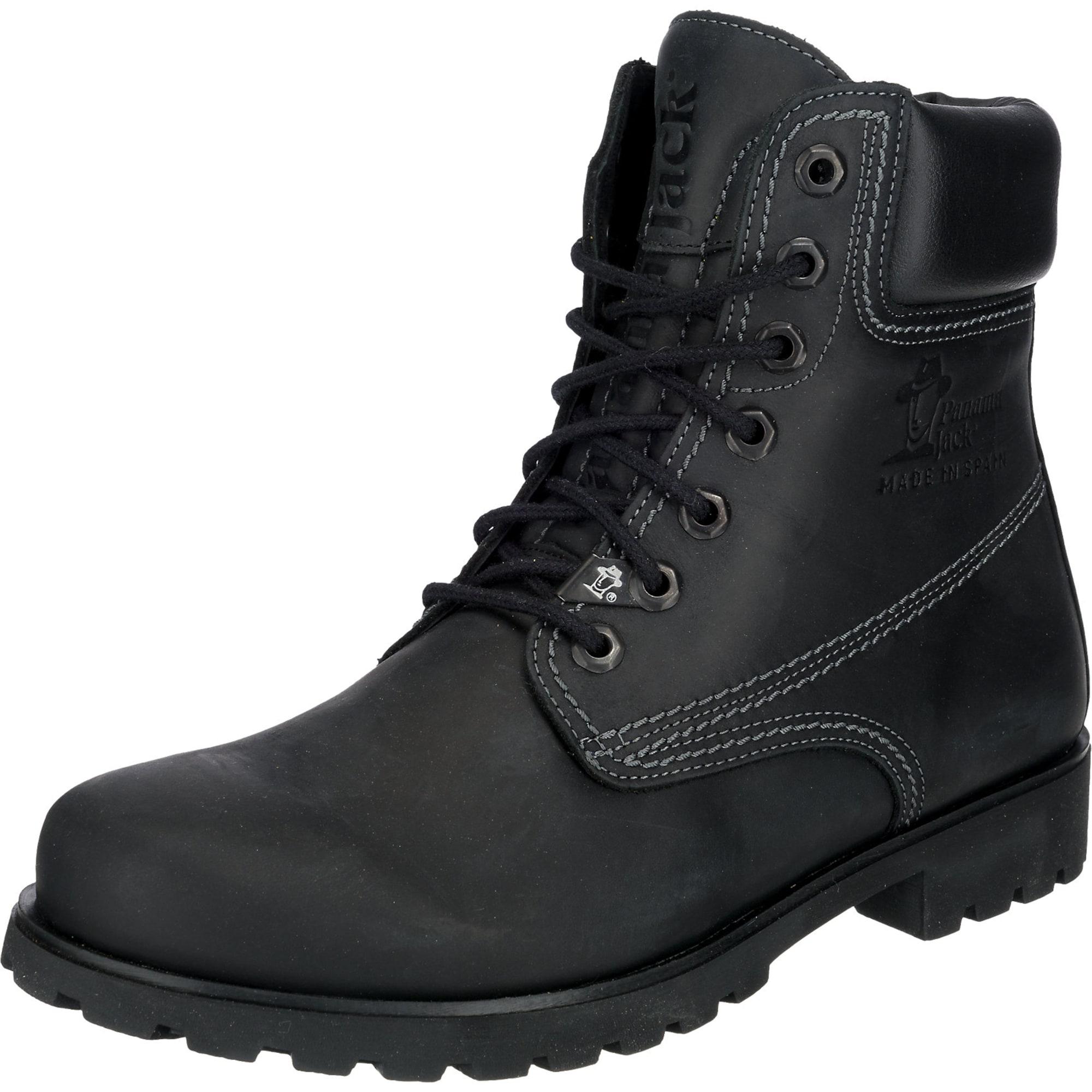 PANAMA JACK Auliniai batai su raišteliais juoda