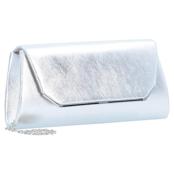 Clutches für Frauen - TAMARIS Grazia Clutch Tasche 25 cm silber  - Onlineshop ABOUT YOU