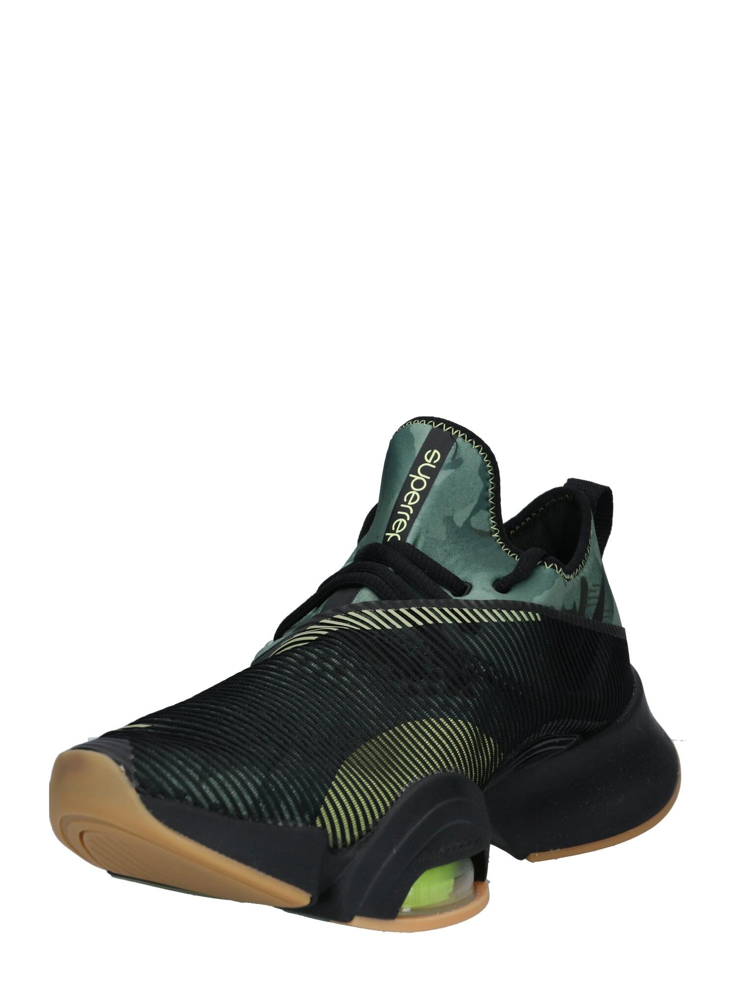 NIKE Běžecká obuv 'Nike Air Zoom SuperRep'  zelená / černá