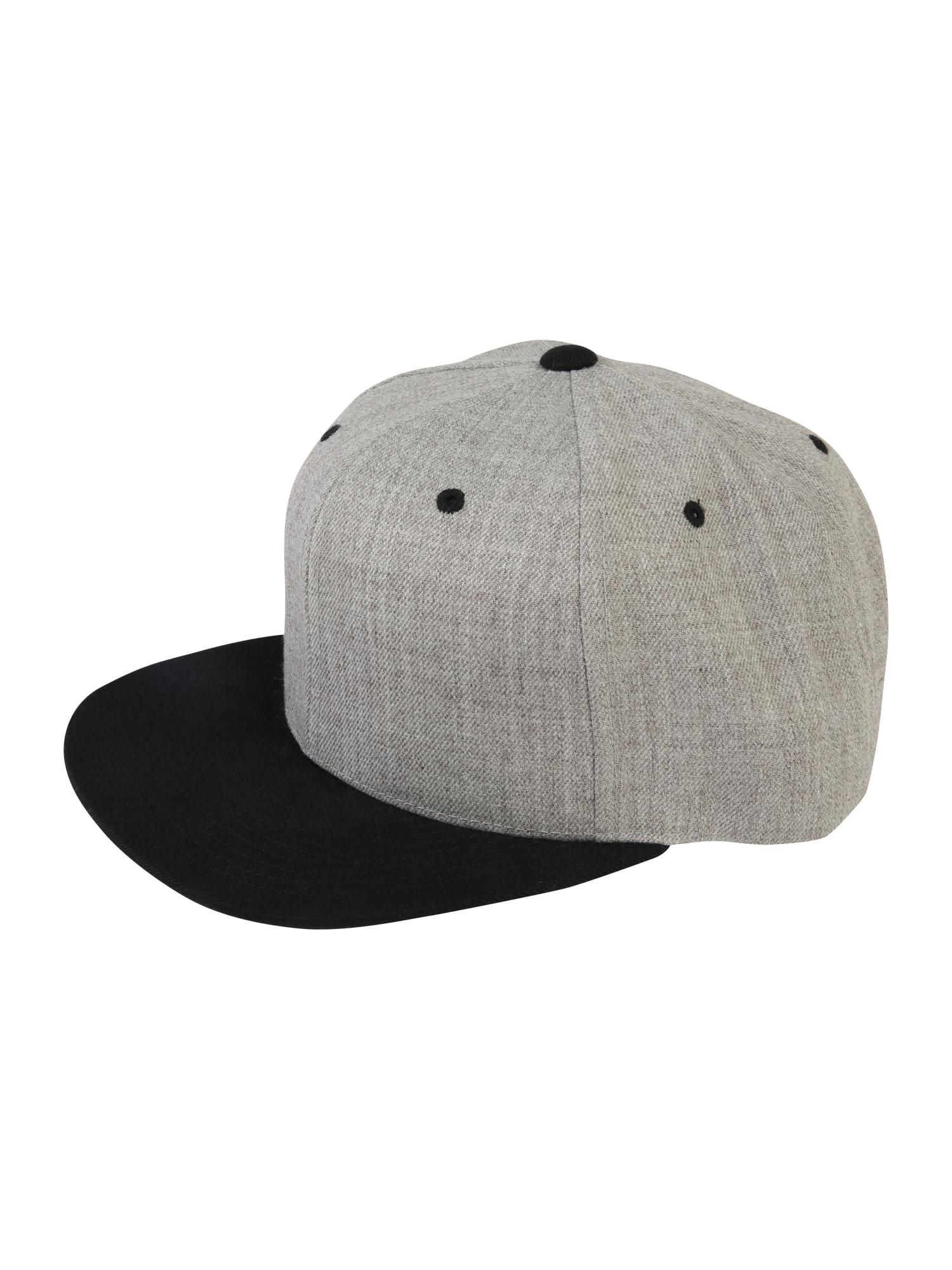 Kšiltovka Classic Snapback šedá černá Flexfit