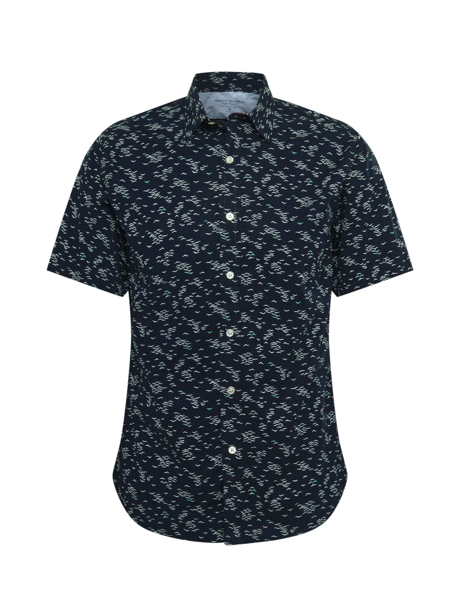 Banana Republic Dalykiniai marškiniai 'SEAGULL' tamsiai mėlyna