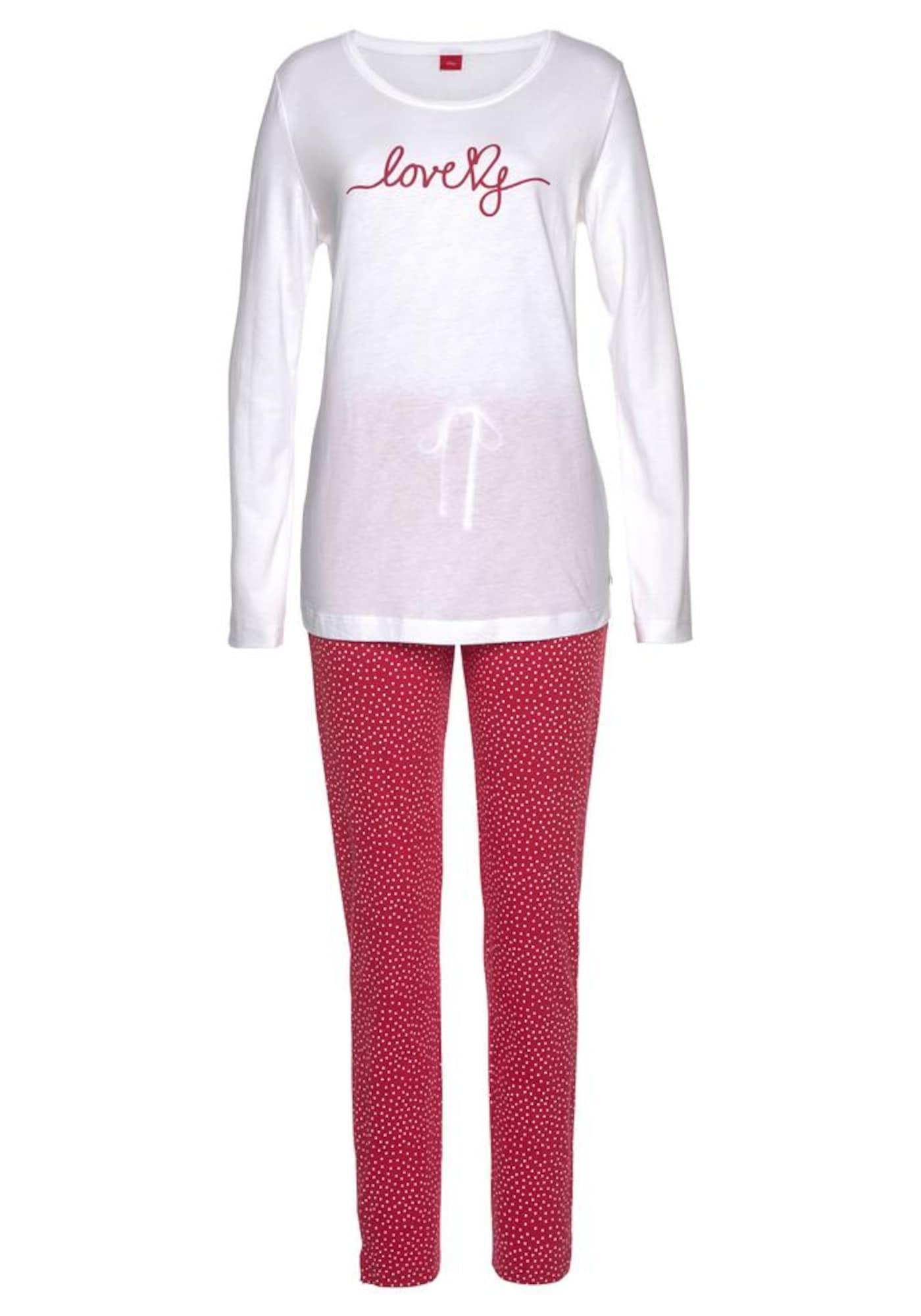 s.Oliver Miego kostiumas balta / raudona