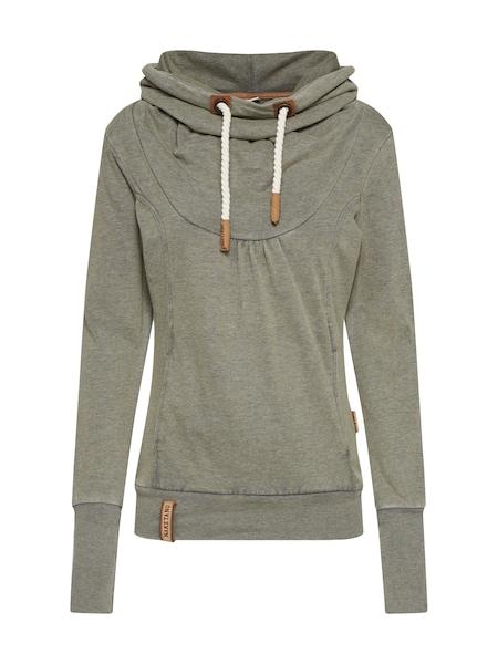 Oberteile für Frauen - Sweatshirt 'Poisonous Dream' › Naketano › braun dunkelgrau  - Onlineshop ABOUT YOU