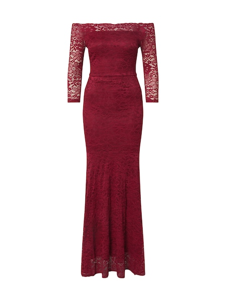 Festtagsmode - Kleid › WAL G. › weinrot  - Onlineshop ABOUT YOU