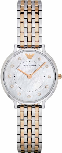 Uhren für Frauen - Emporio Armani Quarzuhr 'AR2508' goldgelb silbergrau  - Onlineshop ABOUT YOU
