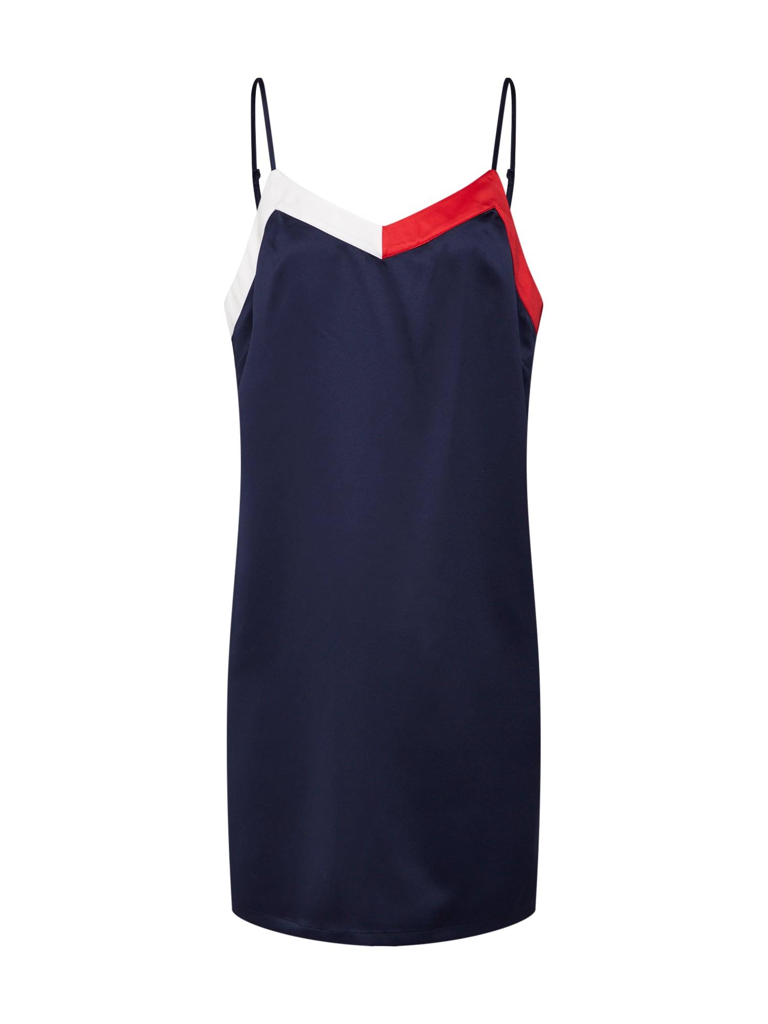 Noční košilka STRAPPY DRESS námořnická modř Tommy Hilfiger Underwear