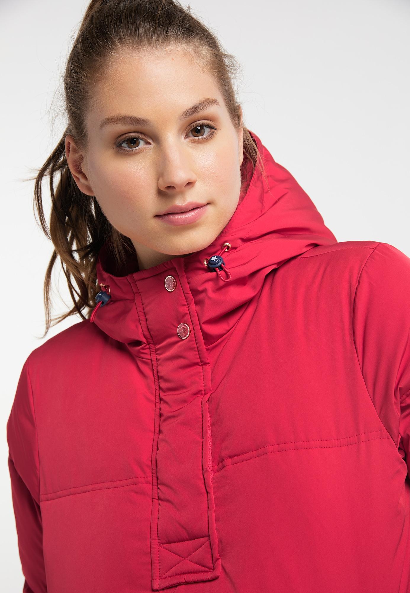 MYMO Zimná bunda  červená.