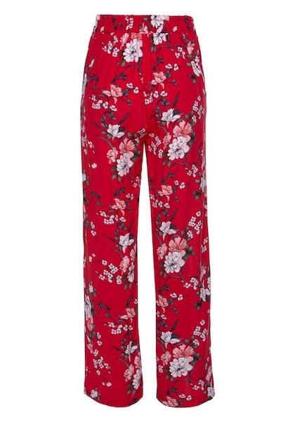 Hosen für Frauen - ANISTON Hose mischfarben rot  - Onlineshop ABOUT YOU