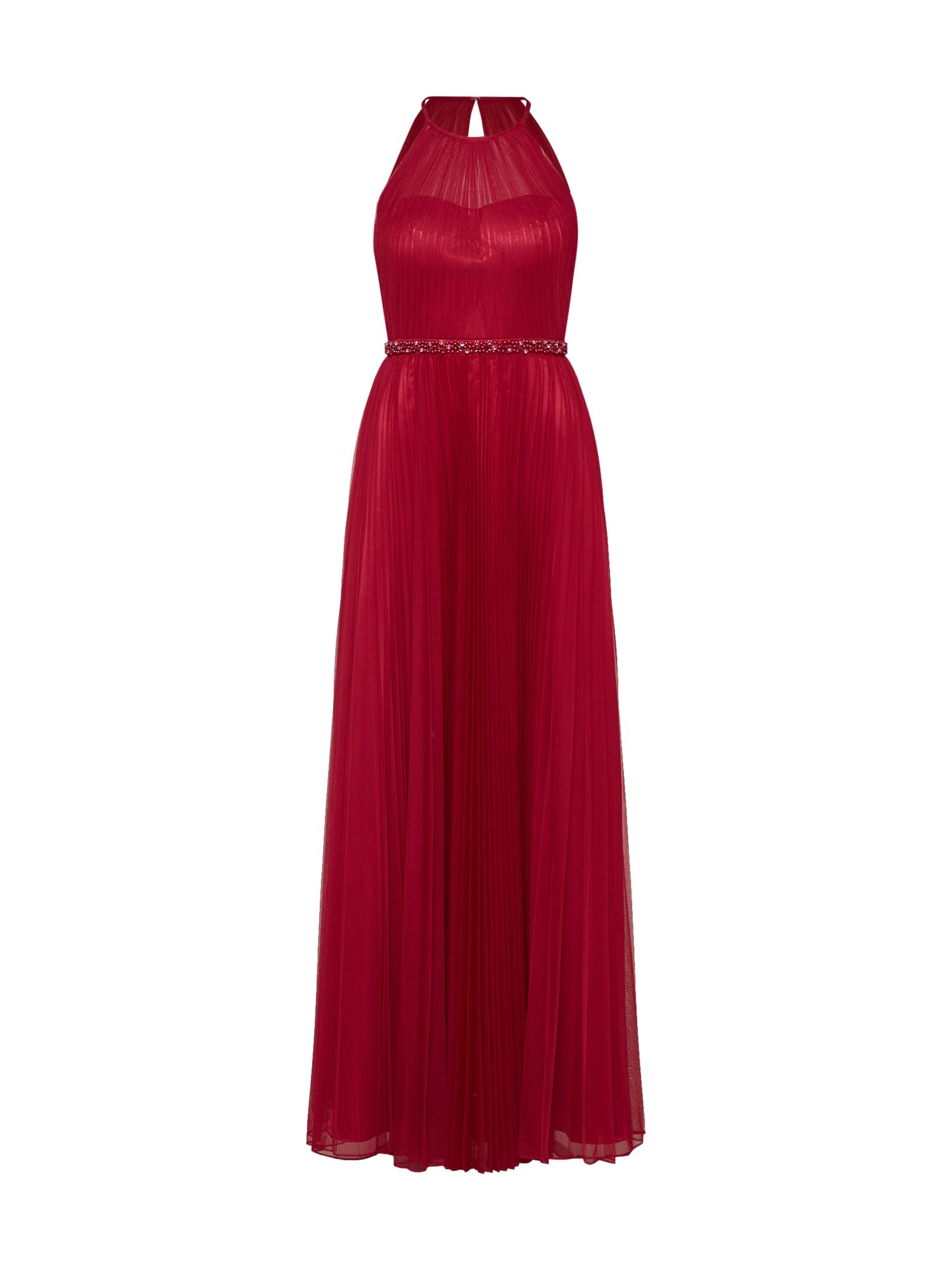 Společenské šaty světle červená Laona