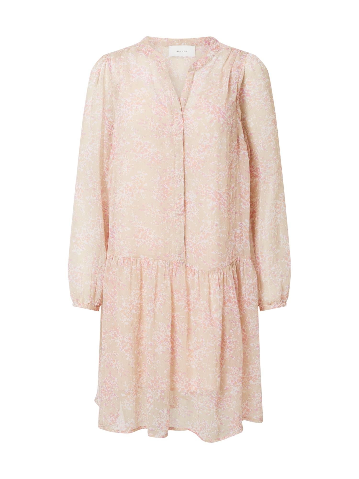 Neo Noir Palaidinės tipo suknelė kremo / rožių spalva / balta