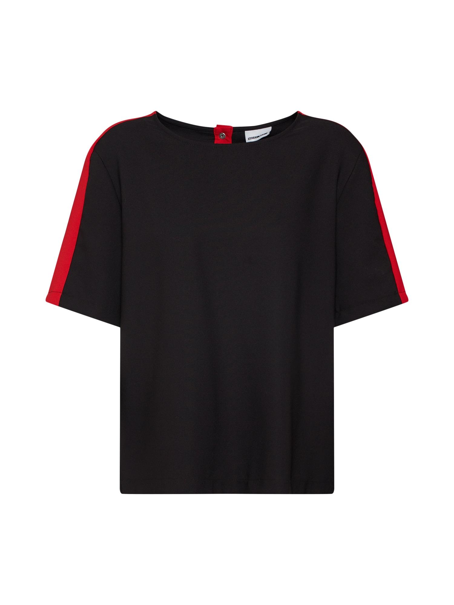 Noisy may Tričko  červená / černá