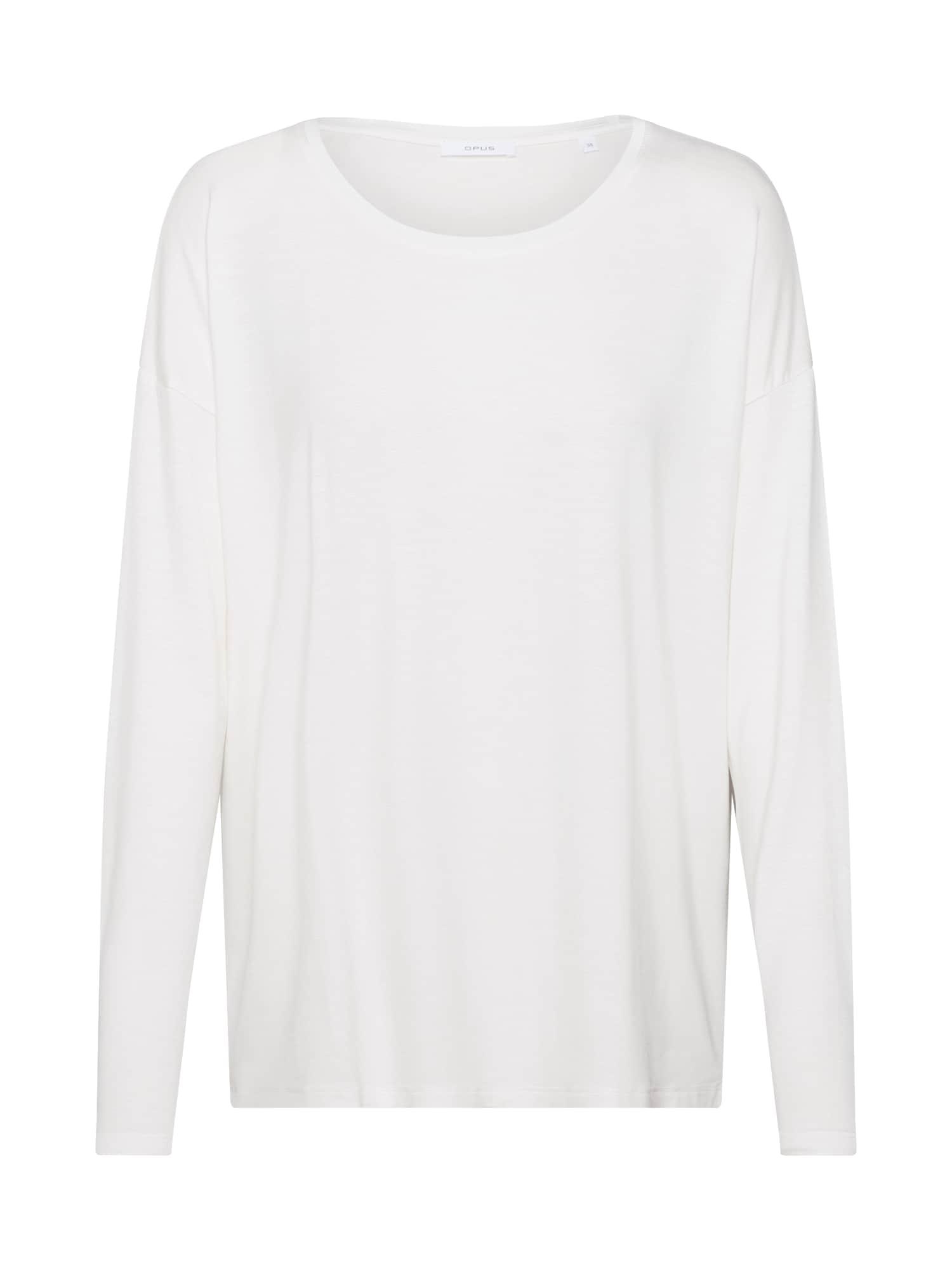 OPUS Tričko 'Sapu'  bílá