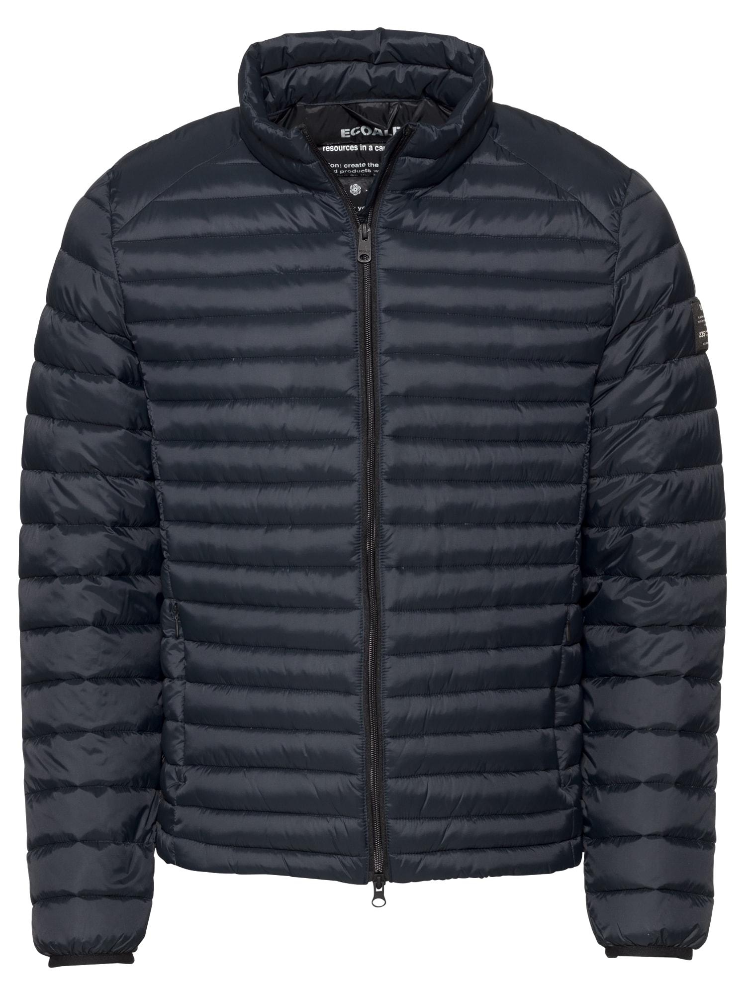 Přechodná bunda beret down jacket man tmavě modrá ECOALF