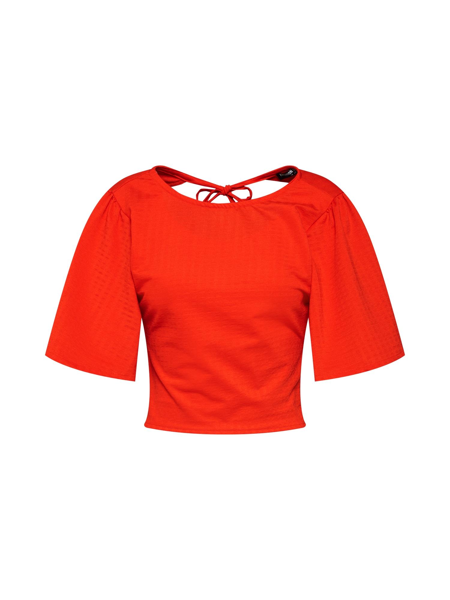 Top IBIZA červená Fashion Union