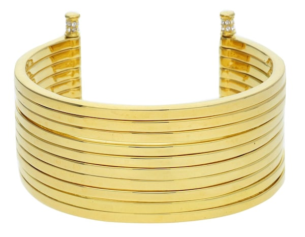 Armbaender für Frauen - JOOP! Armspange 'Stripes JPBA00001B580' gold  - Onlineshop ABOUT YOU