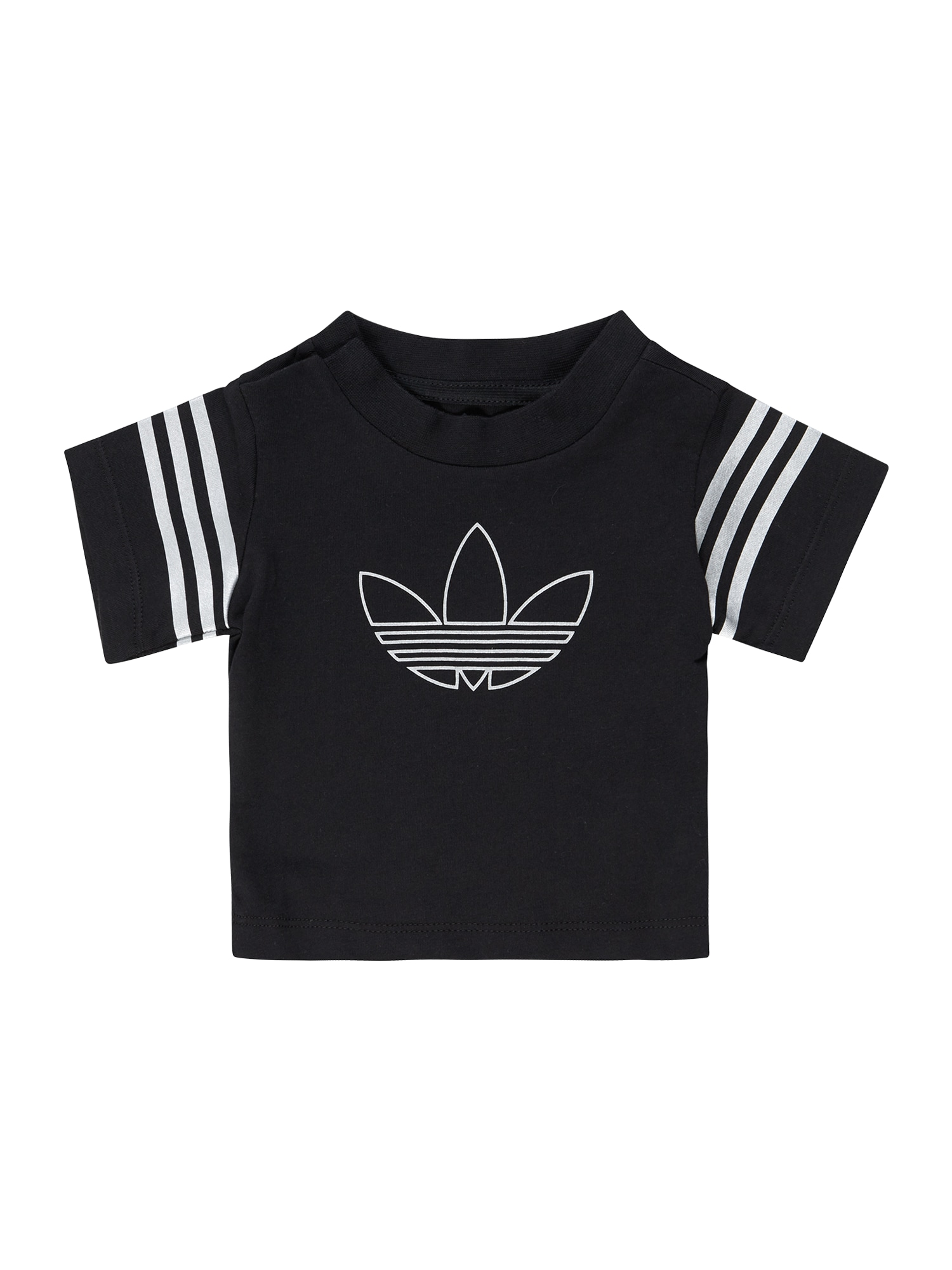 ADIDAS ORIGINALS Marškinėliai 'OUTLINE TEE' juoda