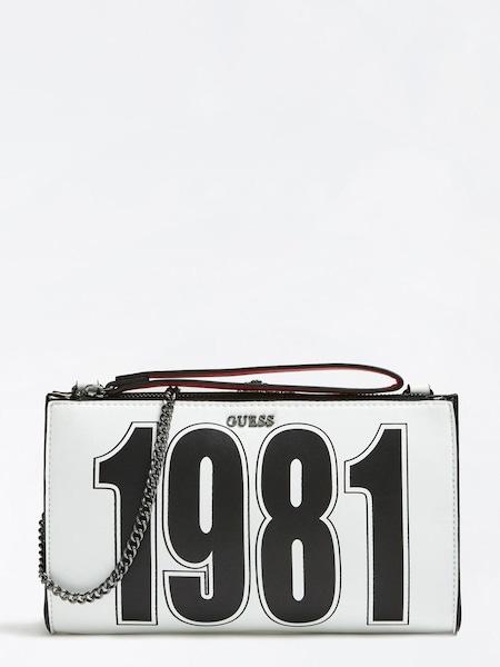 Clutches - Abendtasche › Guess › rot schwarz weiß  - Onlineshop ABOUT YOU