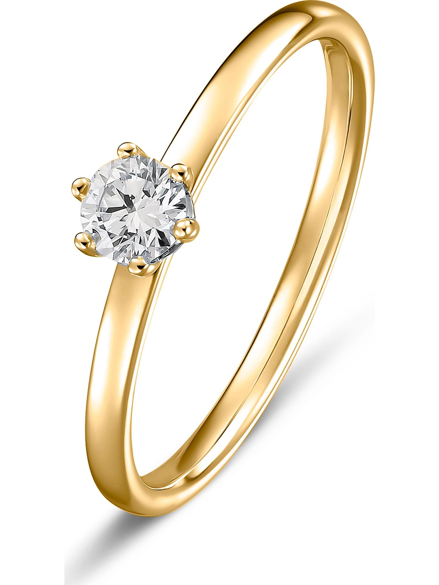 Damen Christ Ring gold, schwarz | 04043145885305
