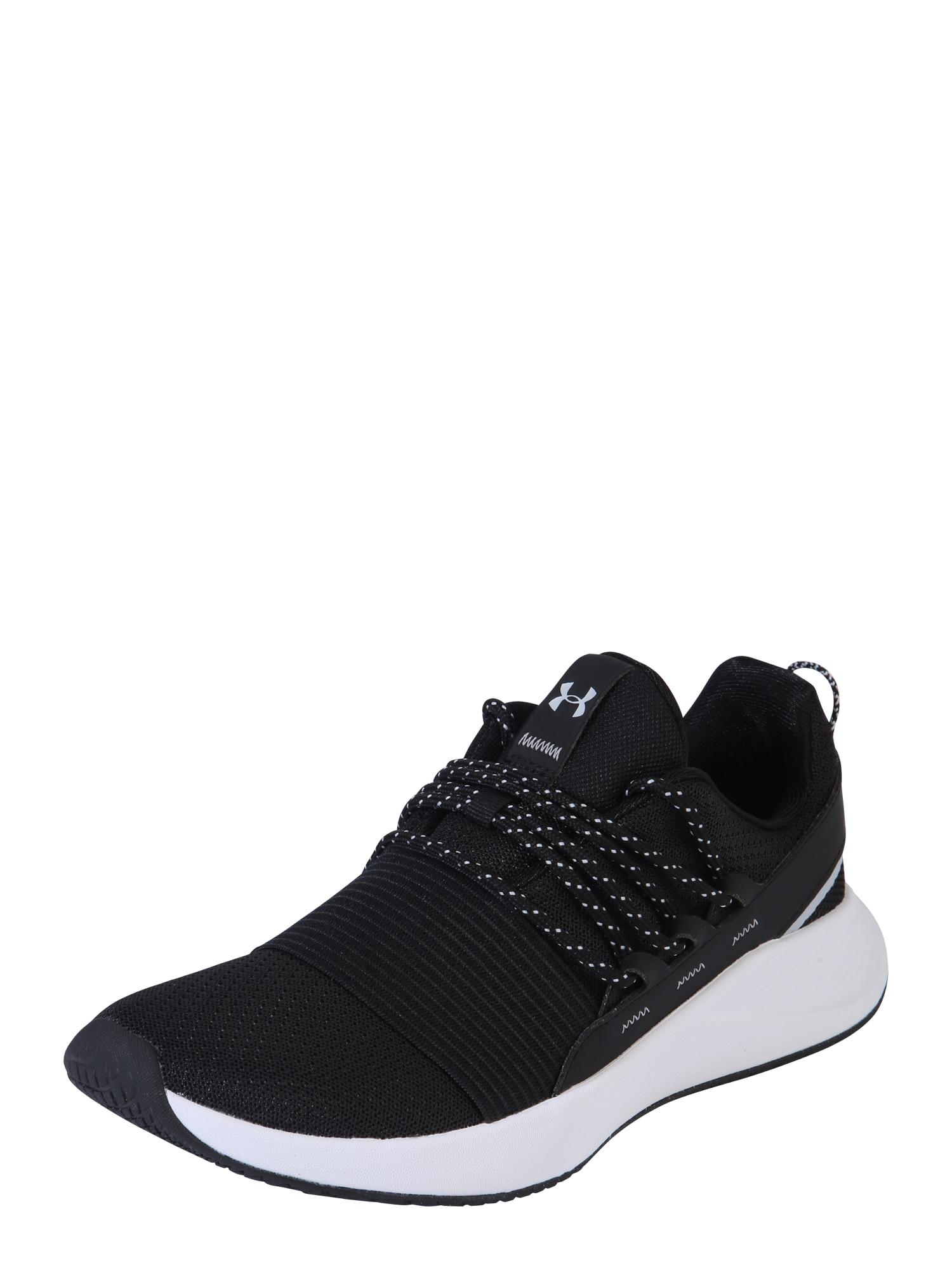 UNDER ARMOUR Sportiniai batai balta / juoda