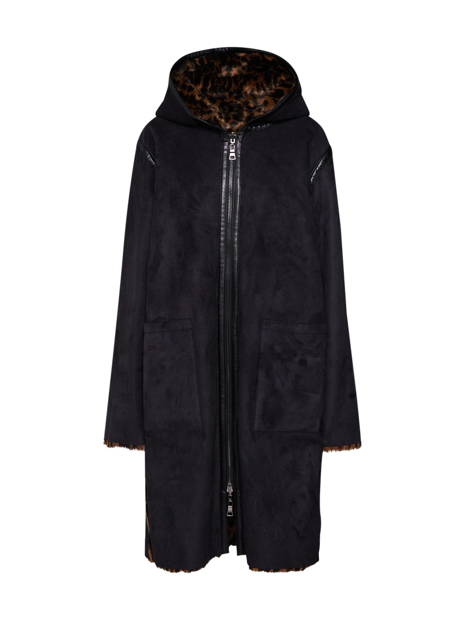 Přechodný kabát EMMA béžová černá BLONDE No. 8