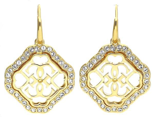 Ohrringe für Frauen - GUESS Ohrhänger '4 You' gold  - Onlineshop ABOUT YOU
