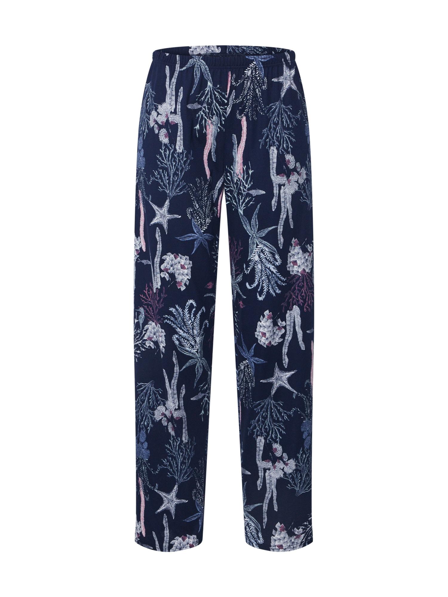 CALIDA Pižaminės kelnės tamsiai mėlyna