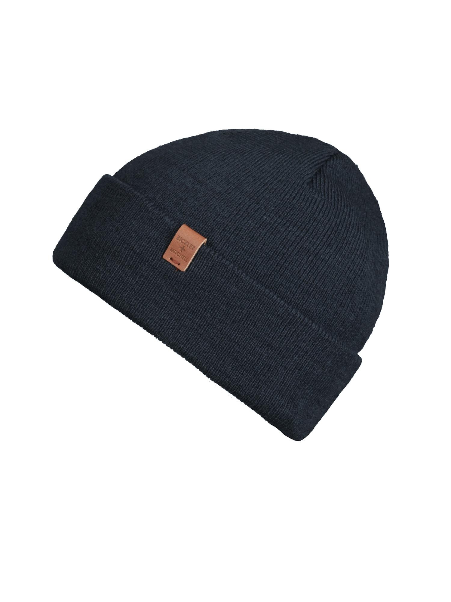 Bickley + Mitchell Megzta kepurė tamsiai mėlyna