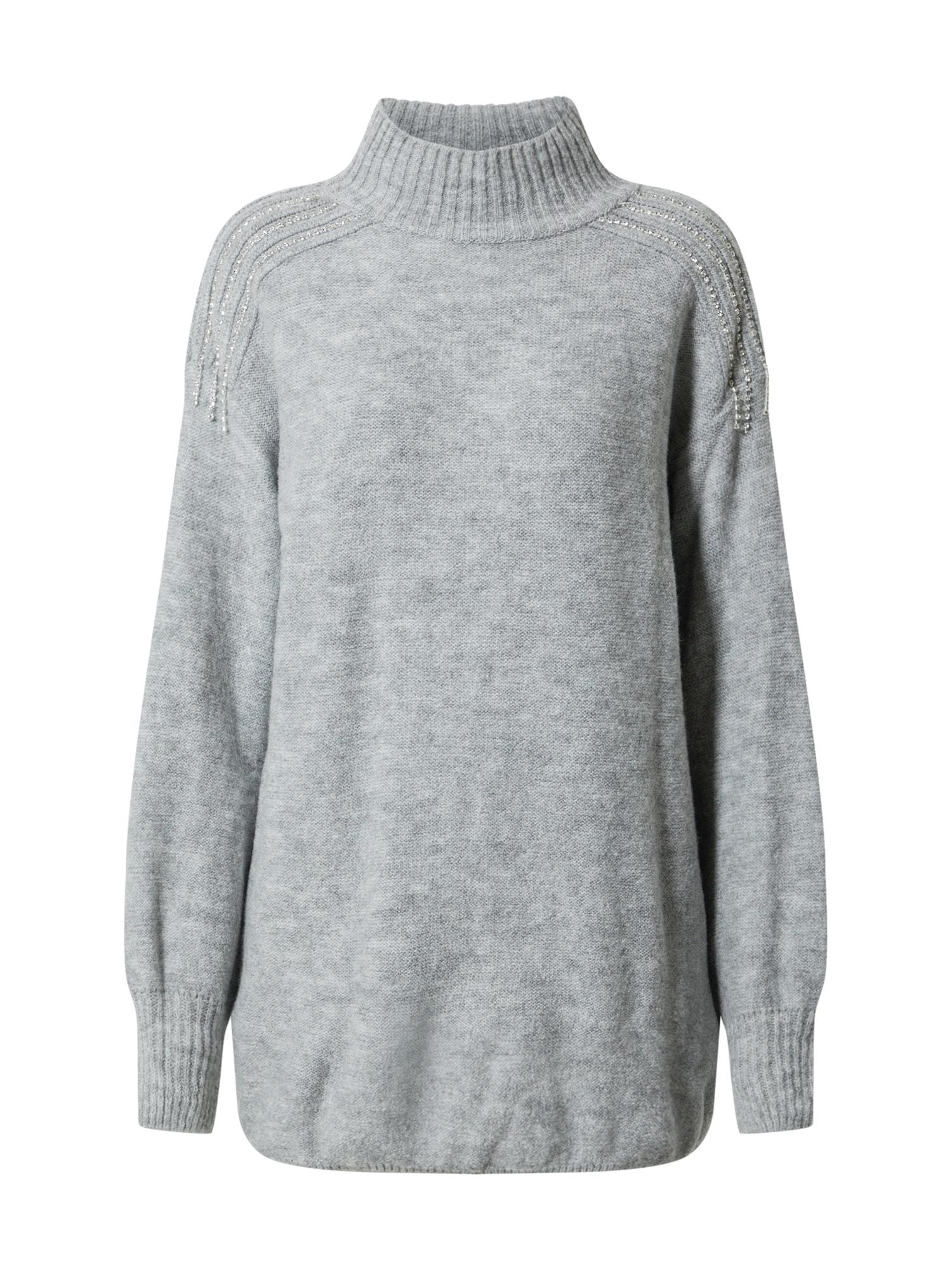 Trendyol Megztinis pilka