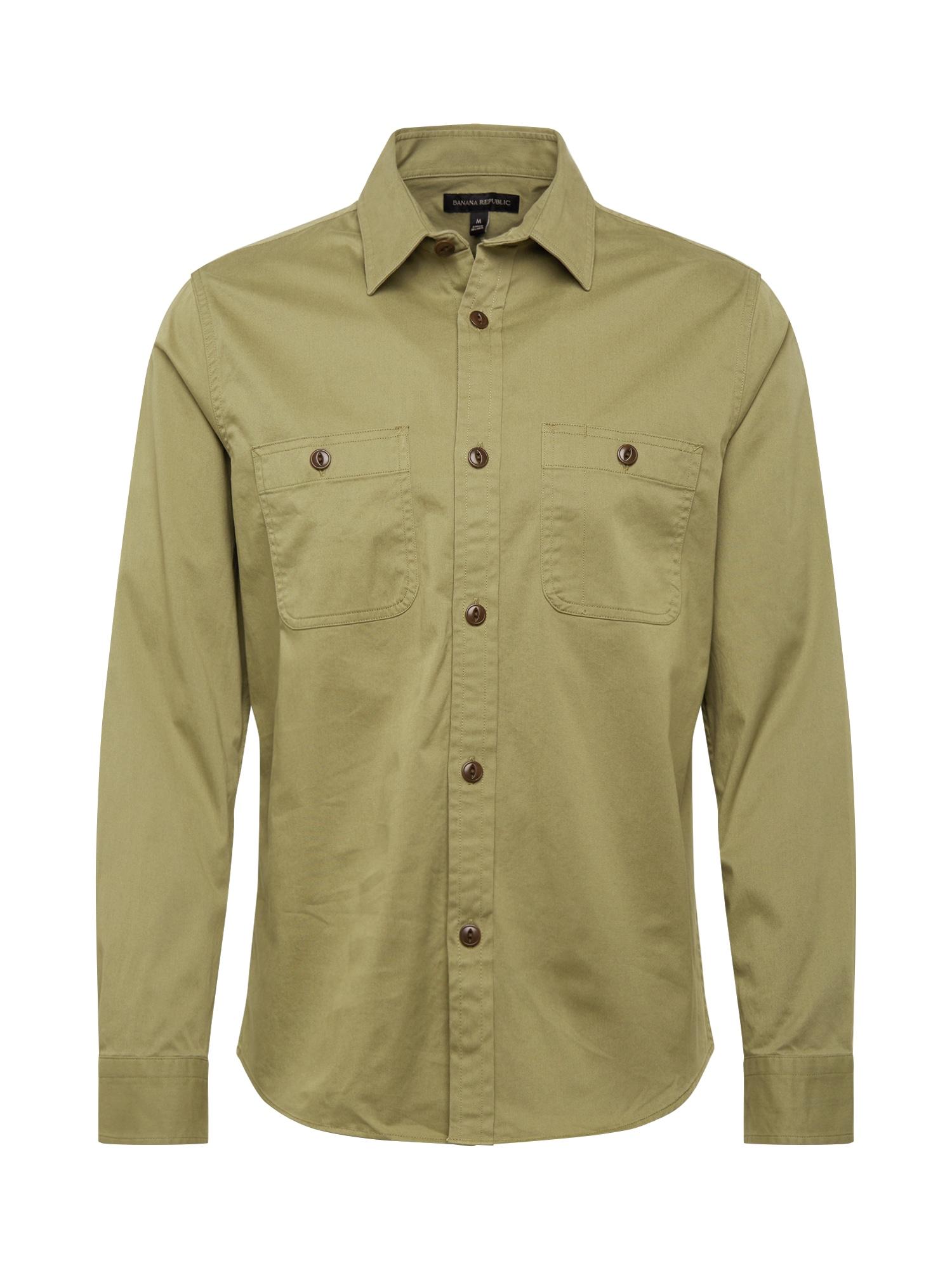 Banana Republic Dalykiniai marškiniai žalia