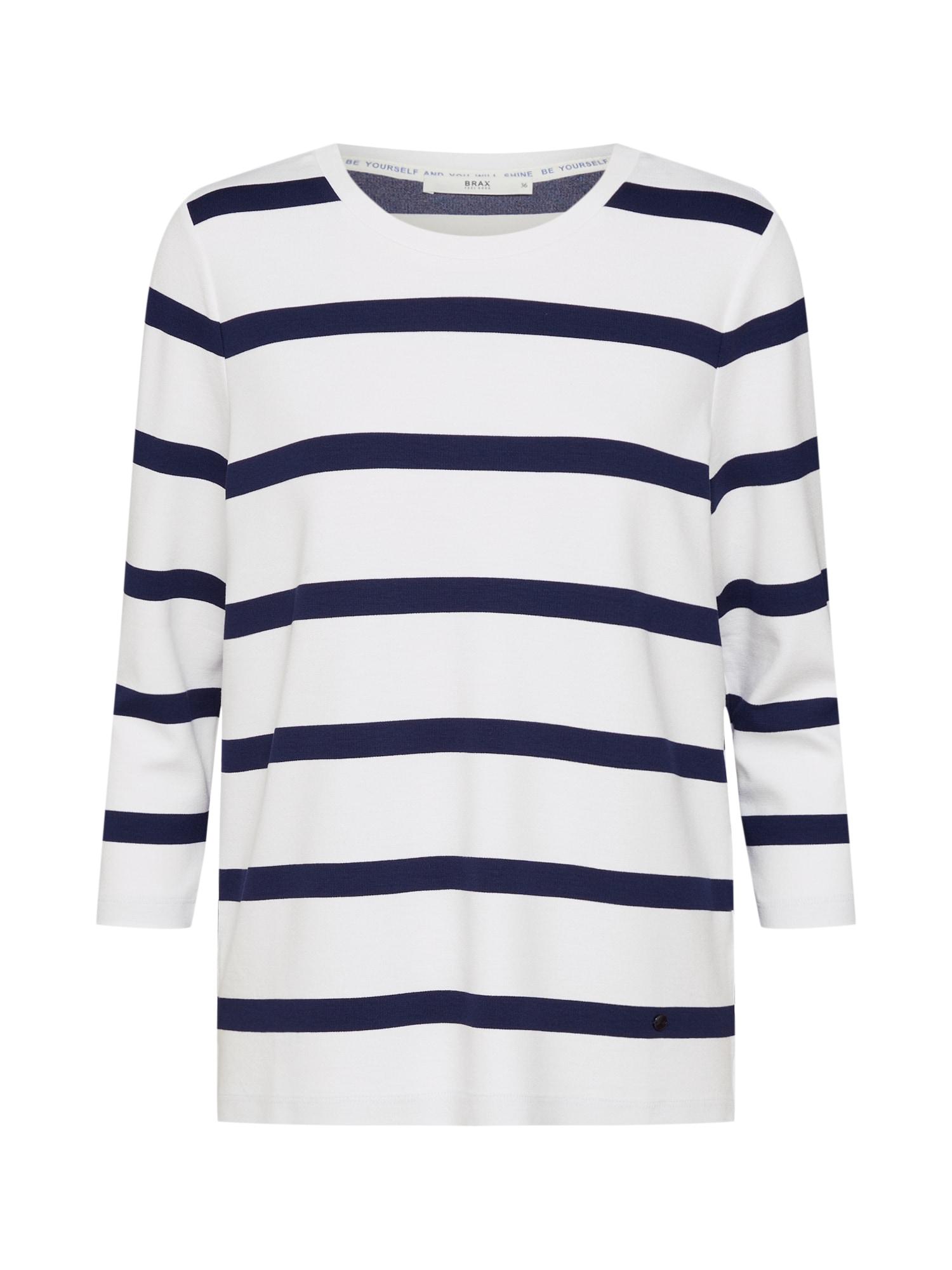 Tričko Bobbie námořnická modř bílá BRAX