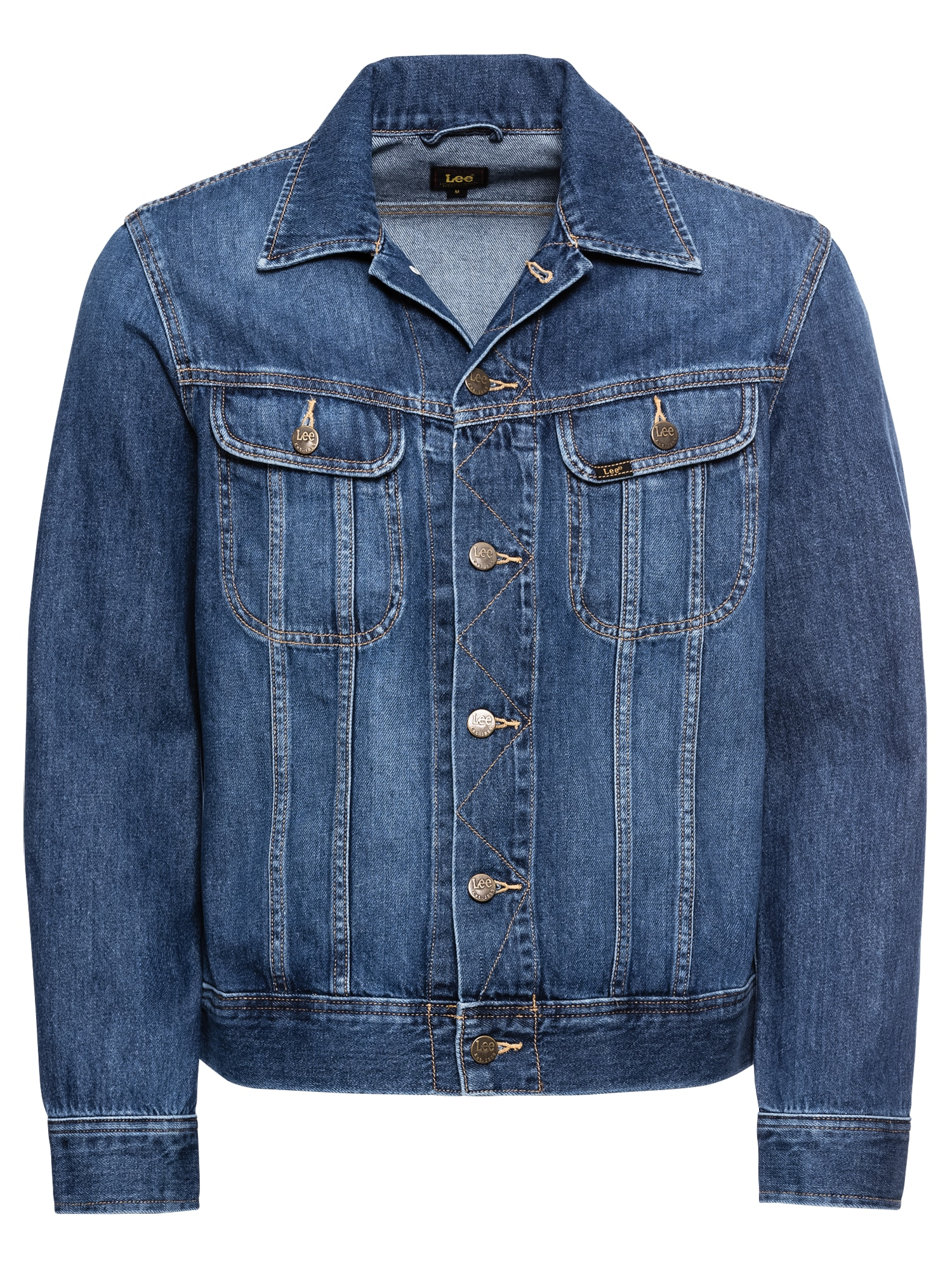 Lee Demisezoninė striukė 'SLIM RIDER FLICK' tamsiai (džinso) mėlyna