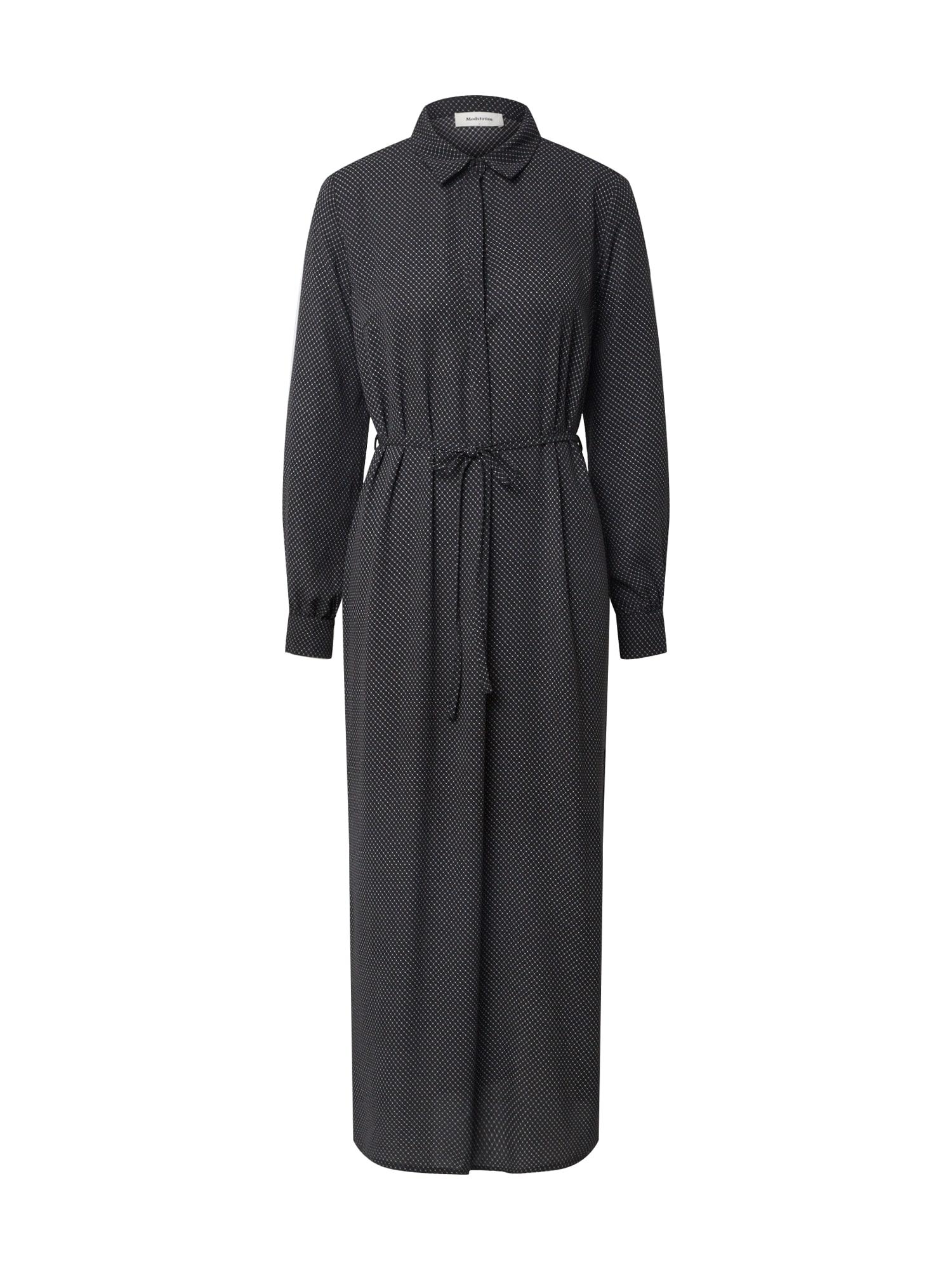modström Palaidinės tipo suknelė balta / juoda