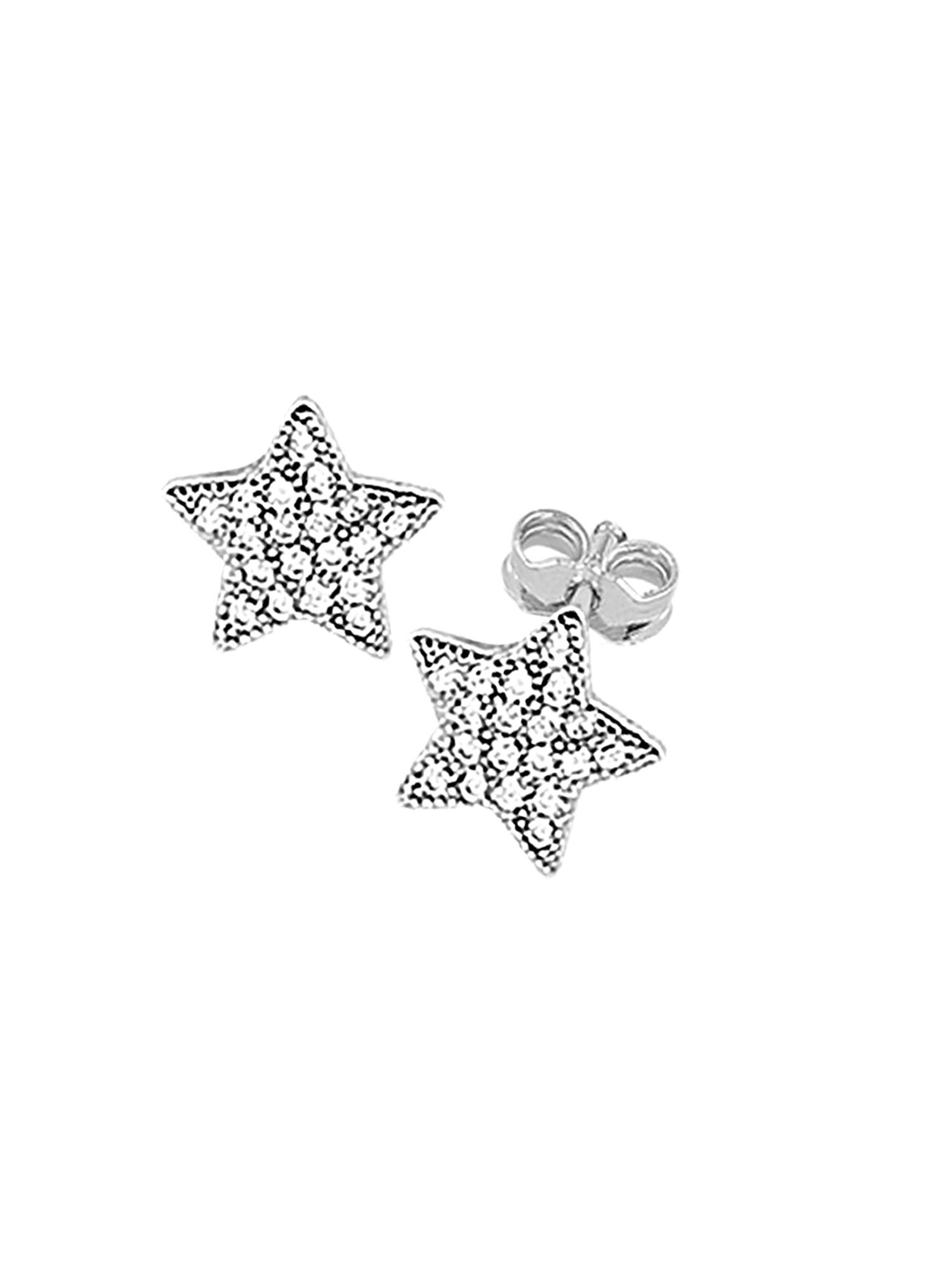 Náušnice WISHING ON A STAR stříbrná SO COSI