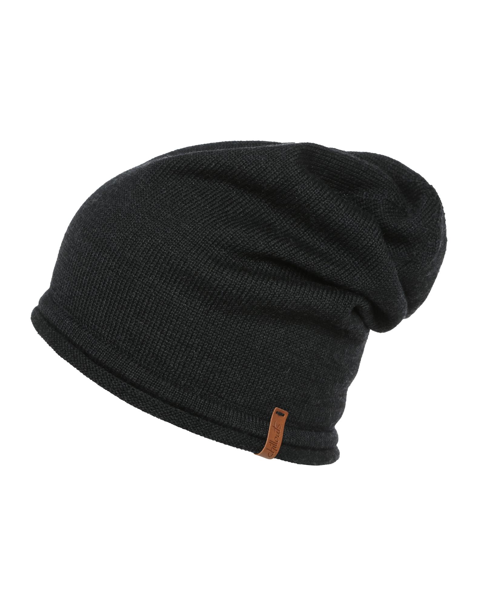Čepice Leicester Hat černá Chillouts