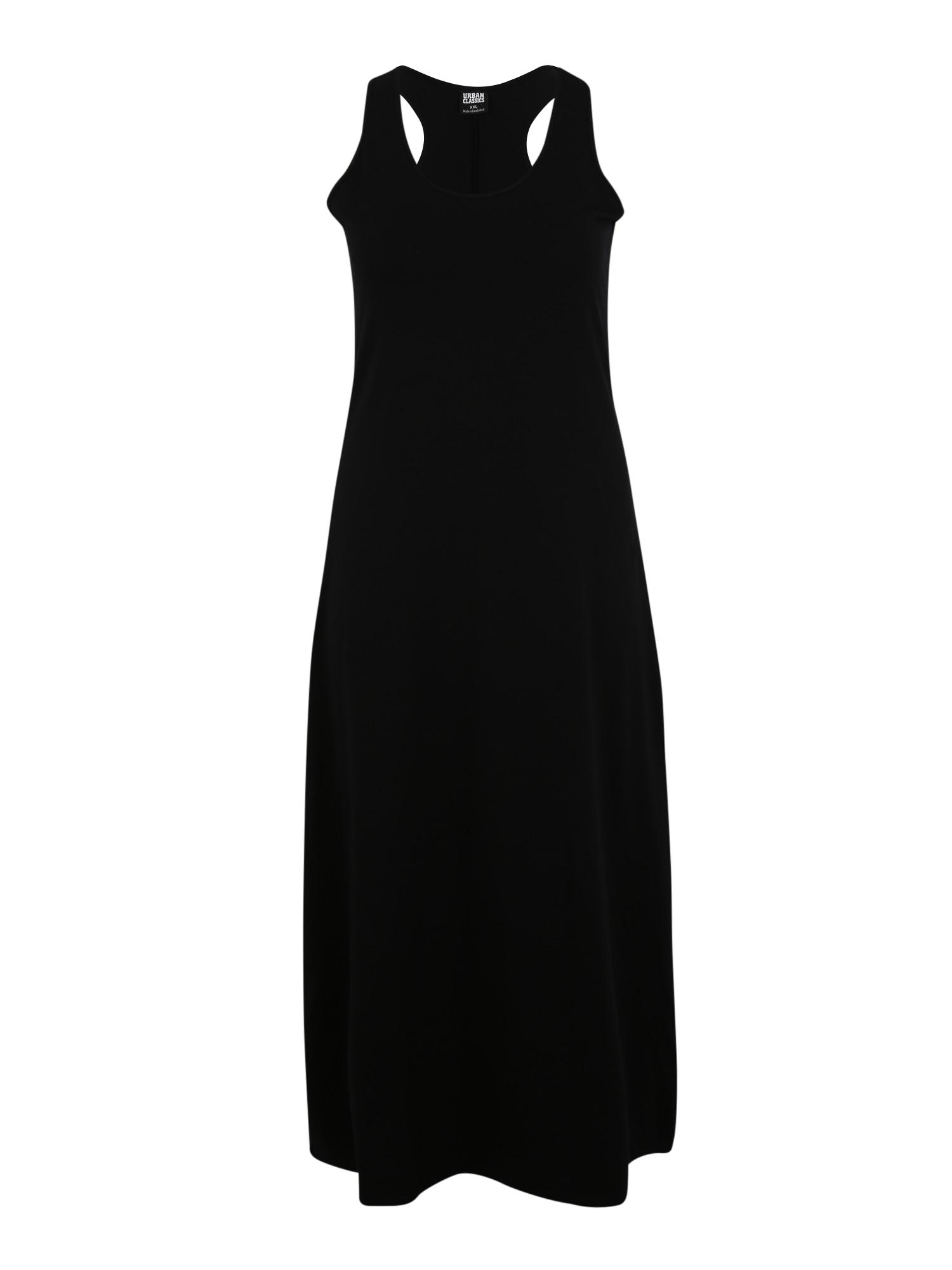 Urban Classics Curvy Letné šaty  čierna