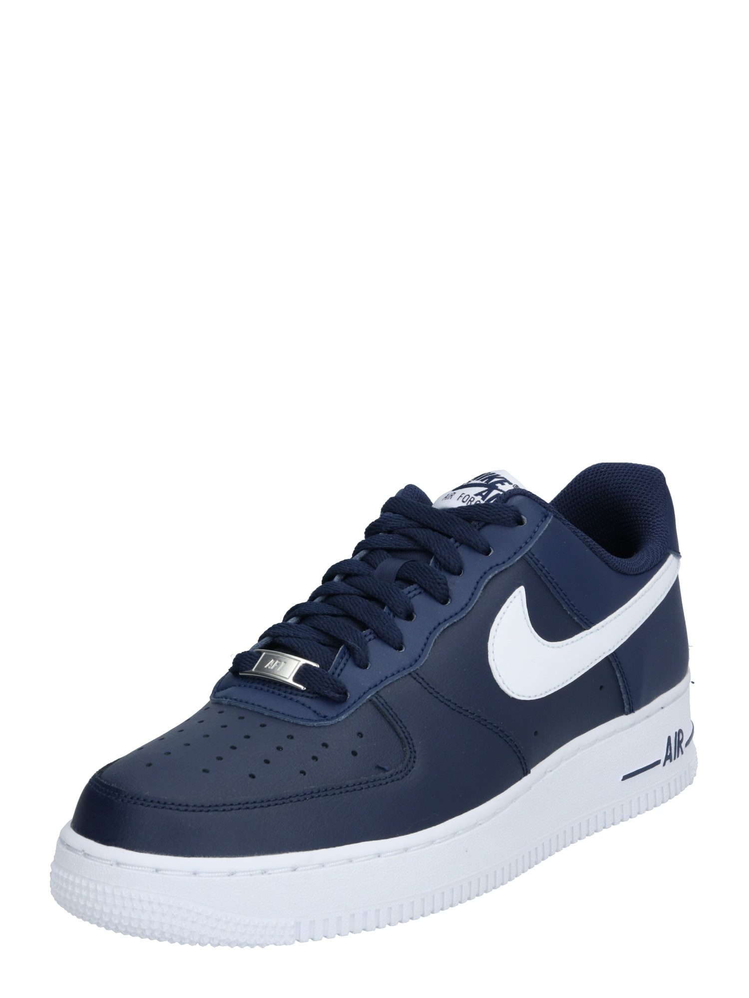 Nike Sportswear Nízke tenisky 'AIR FORCE 1 '07 AN20'  tmavomodrá / námornícka modrá