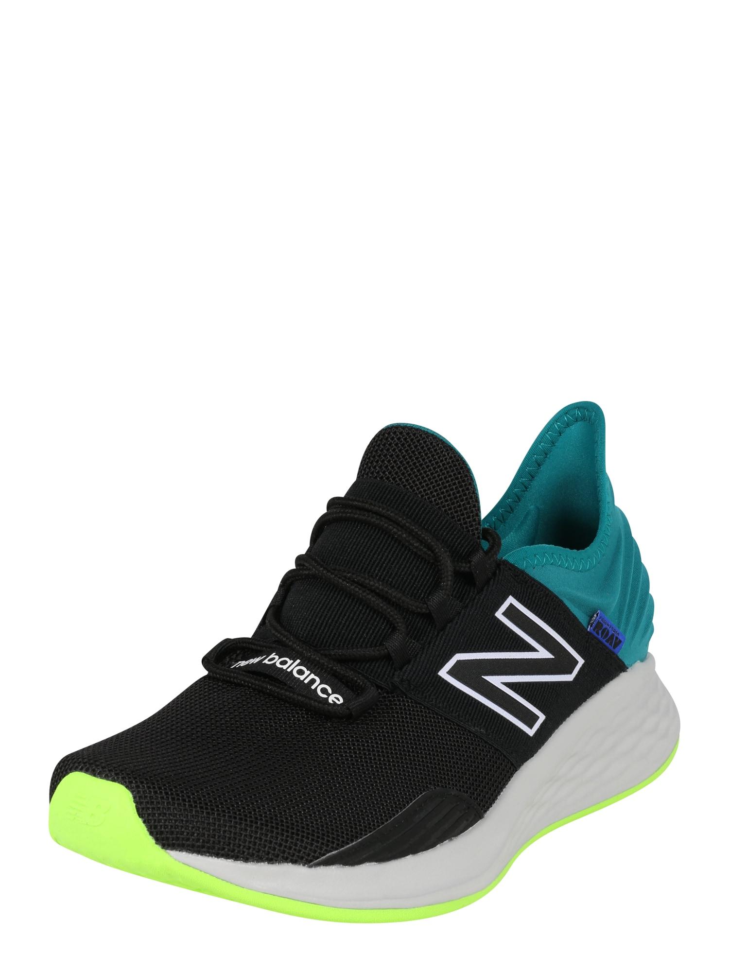 new balance Sportovní boty  zelená / černá / modrá