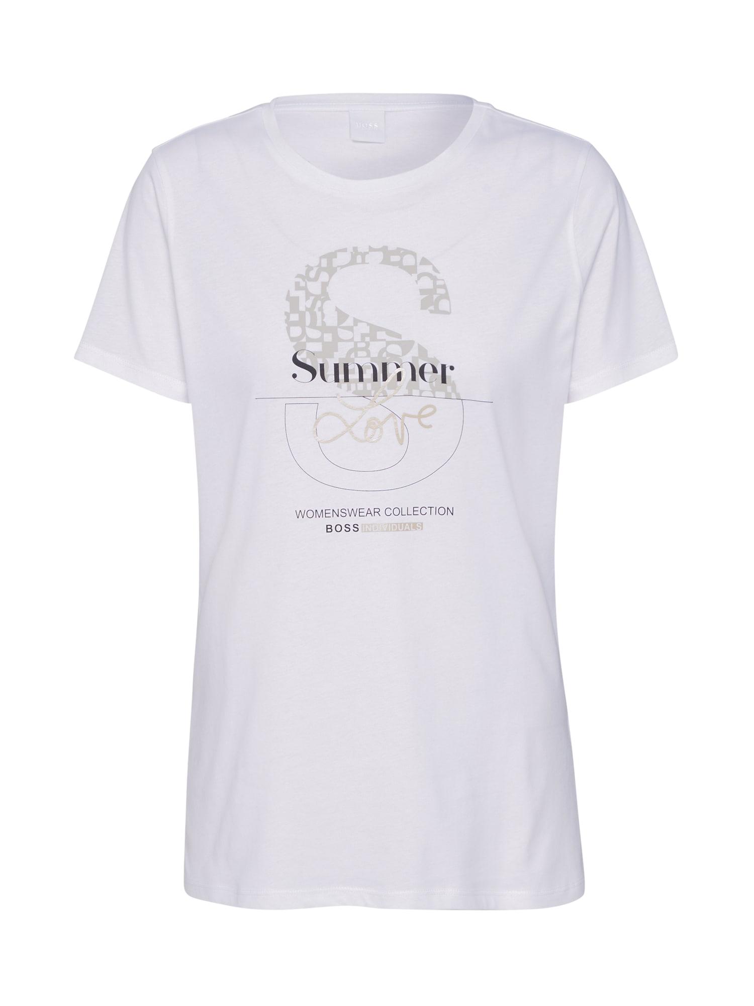 BOSS Marškinėliai 'Tenovel' balta