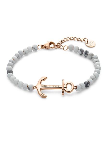 Armbaender für Frauen - Paul Hewitt Armkette 'Anchor Spirit' rosegold hellgrau  - Onlineshop ABOUT YOU